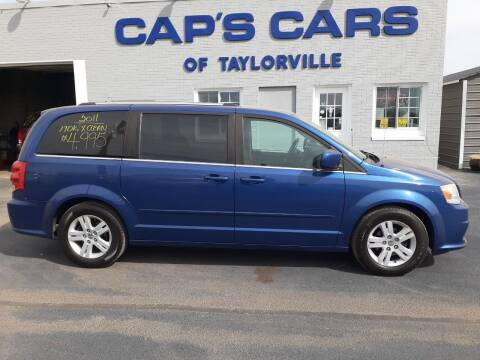 2011 Dodge Grand Caravan for sale at Caps Cars Of Taylorville in Taylorville IL