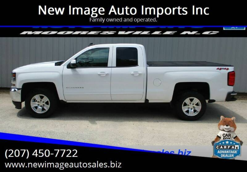 2018 Chevrolet Silverado 1500 for sale at New Image Auto Imports Inc in Mooresville NC