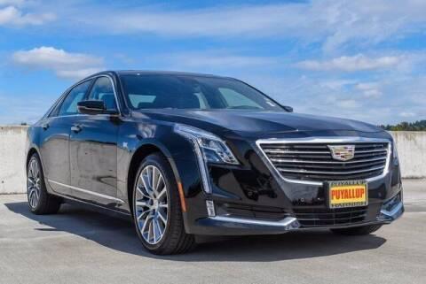 2018 Cadillac CT6 for sale at Washington Auto Credit in Puyallup WA