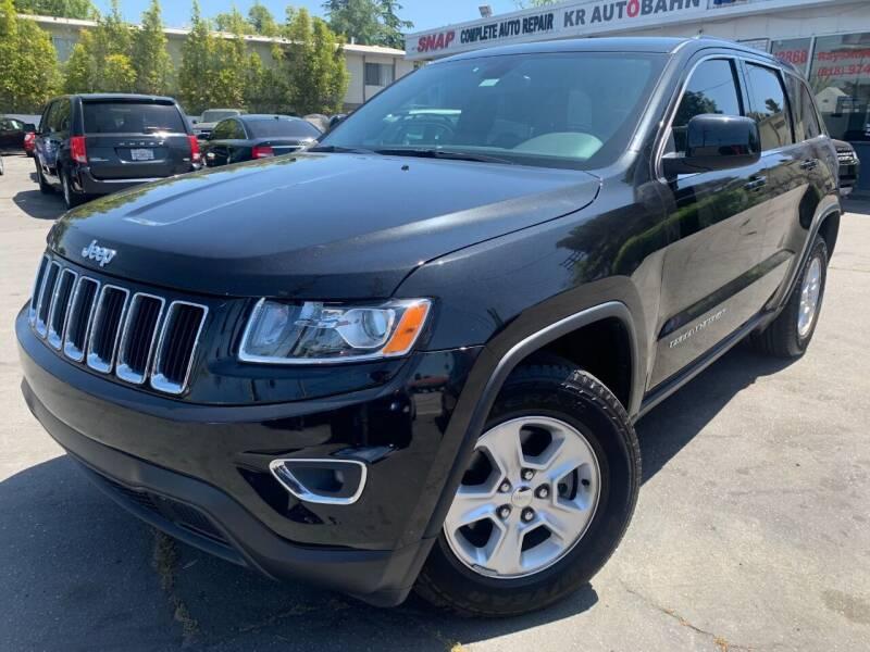 2016 Jeep Grand Cherokee for sale at Car Lanes LA in Valley Village CA