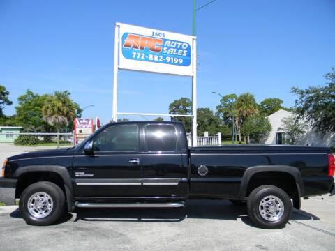2003 Chevrolet Silverado 2500HD for sale at APC Auto Sales in Fort Pierce FL