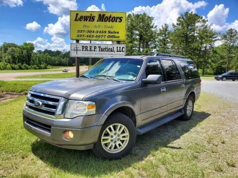 2011 Ford Expedition EL for sale at Lewis Motors LLC in Deridder LA