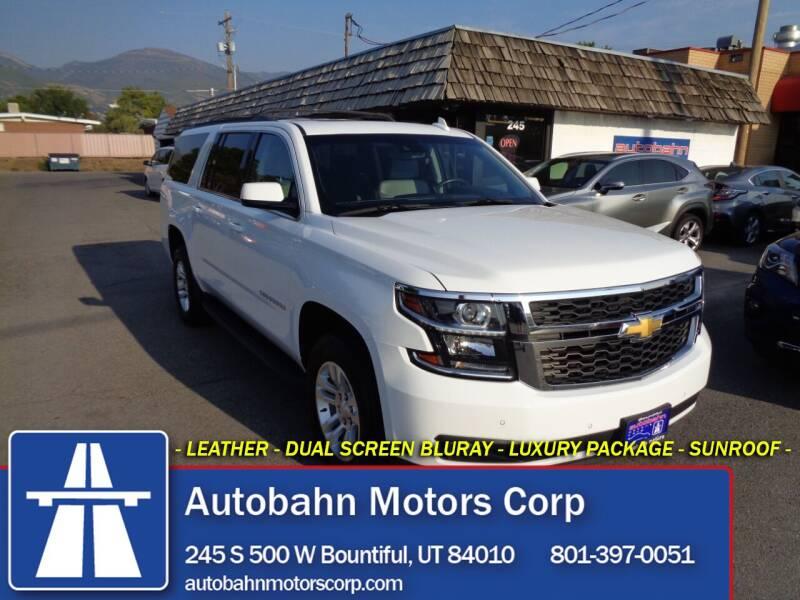 2020 Chevrolet Suburban for sale at Autobahn Motors Corp in Bountiful UT