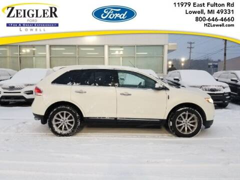 2013 Lincoln MKX for sale at Zeigler Ford of Plainwell- Jeff Bishop in Plainwell MI