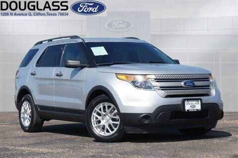 2012 Ford Explorer for sale at Douglass Automotive Group - Douglas Ford in Clifton TX