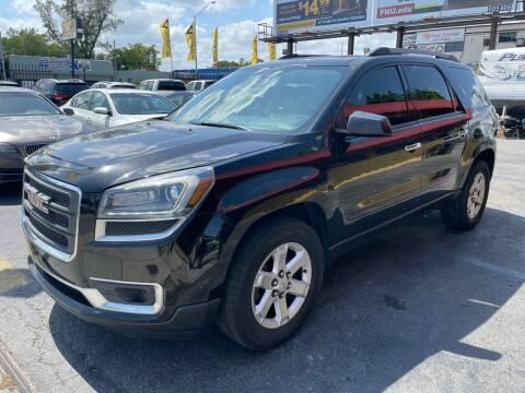 2013 GMC Acadia for sale at AUTO ALLIANCE LLC in Miami FL