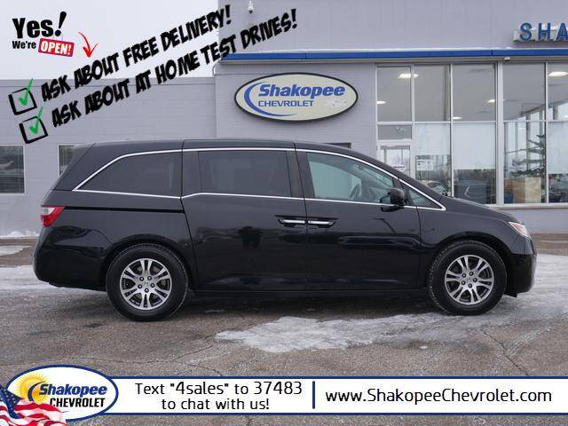 2012 Honda Odyssey for sale at SHAKOPEE CHEVROLET in Shakopee MN