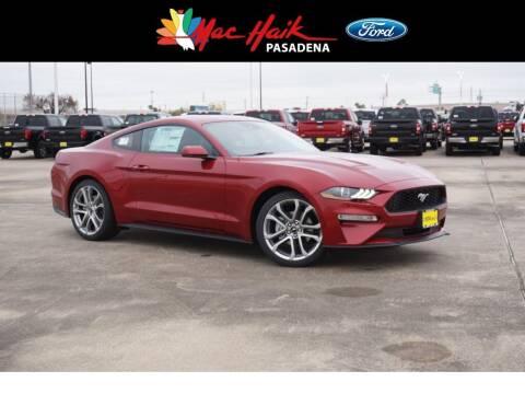 2020 Ford Mustang for sale at Mac Haik Ford Pasadena in Pasadena TX