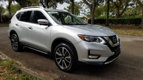 2020 Nissan Rogue for sale at DELRAY AUTO MALL in Delray Beach FL