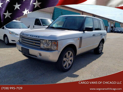 2005 Land Rover Range Rover for sale at Cargo Vans of Chicago LLC in Mokena IL