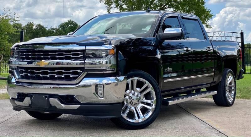 2017 Chevrolet Silverado 1500 for sale at Texas Auto Corporation in Houston TX