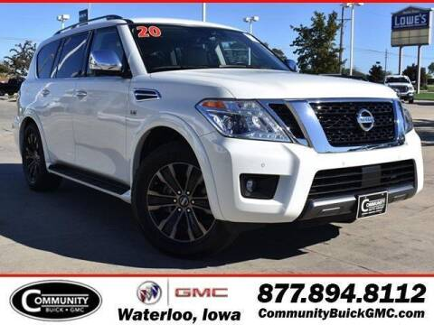 2020 Nissan Armada for sale at Community Buick GMC in Waterloo IA