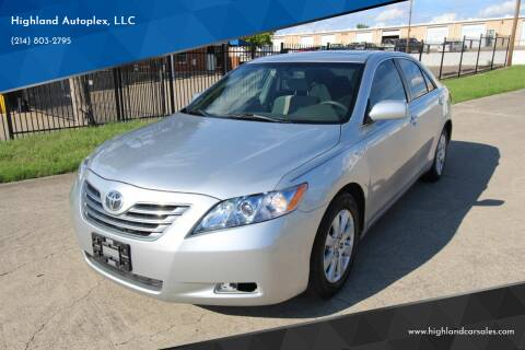 2008 Toyota Camry Hybrid for sale at Highland Autoplex, LLC in Dallas TX