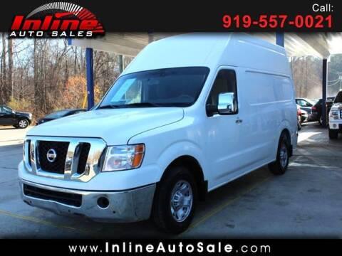 2012 Nissan NV Cargo for sale at Inline Auto Sales in Fuquay Varina NC