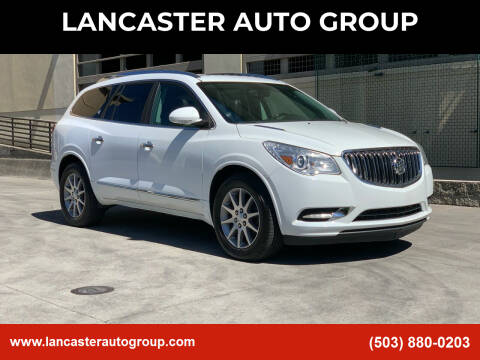 2016 Buick Enclave for sale at LANCASTER AUTO GROUP in Portland OR