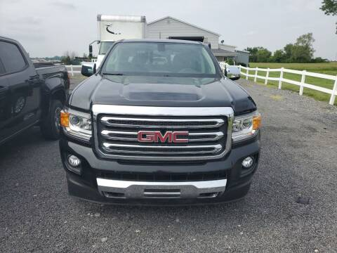 2018 GMC Canyon for sale at K & G Auto Sales Inc in Delta OH