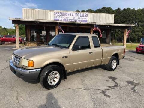 2001 Ford Ranger for sale at Greenbrier Auto Sales in Greenbrier AR