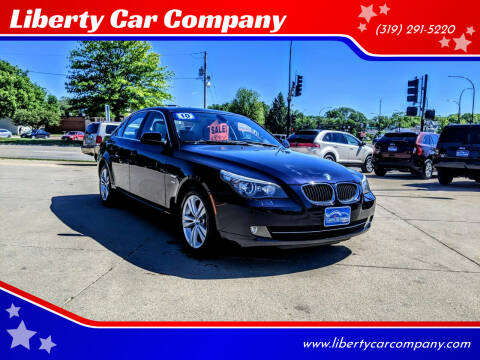 2010 BMW 5 Series for sale at Liberty Car Company in Waterloo IA