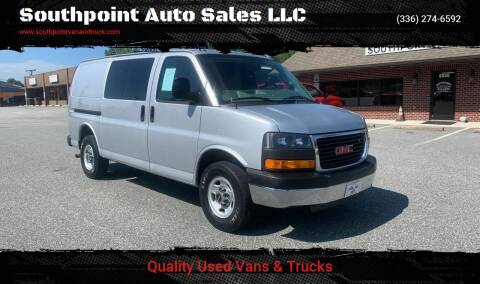 2016 GMC Savana Cargo for sale at Southpoint Auto Sales LLC in Greensboro NC