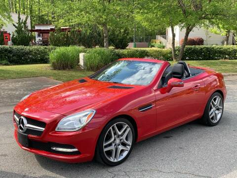 2013 Mercedes-Benz SLK for sale at Triangle Motors Inc in Raleigh NC