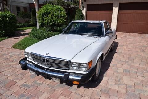 1987 Mercedes-Benz 560-Class for sale at Sunshine Classics, LLC in Boca Raton FL