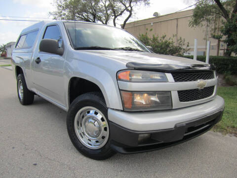 2010 Chevrolet Colorado for sale at FLORIDACARSTOGO in West Palm Beach FL