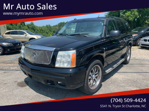 2005 Cadillac Escalade for sale at Mr Auto Sales in Charlotte NC