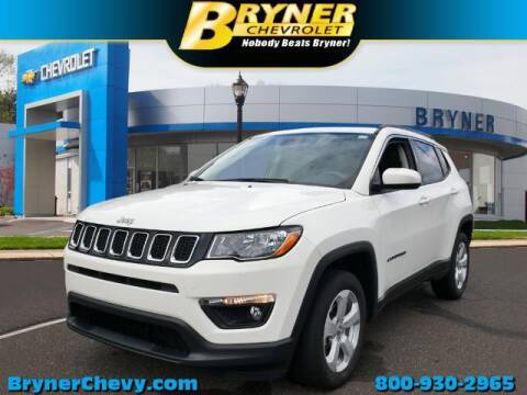 2018 Jeep Compass for sale at BRYNER CHEVROLET in Jenkintown PA