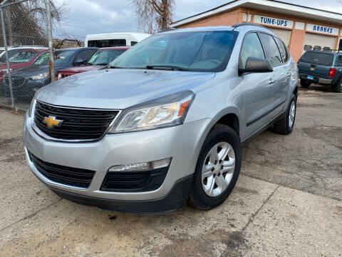 2015 Chevrolet Traverse for sale at Seaview Motors and Repair LLC in Bridgeport CT