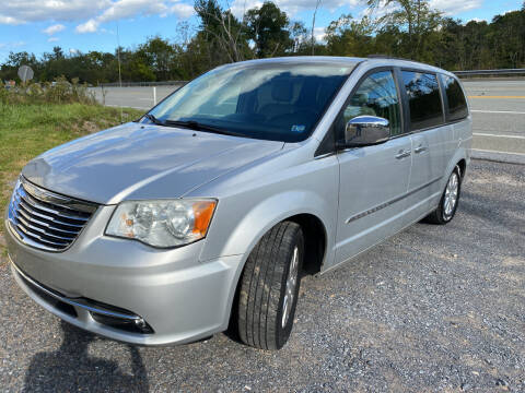 2012 Chrysler Town and Country for sale at Mackeys Autobarn in Bedford PA