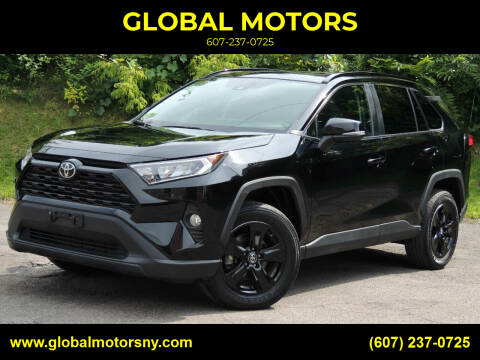 2019 Toyota RAV4 for sale at GLOBAL MOTORS in Binghamton NY