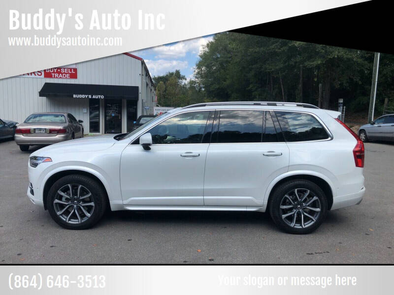 2017 Volvo XC90 for sale at Buddy's Auto Inc in Pendleton SC