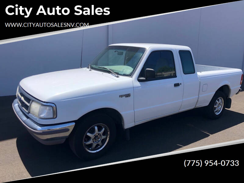 1996 Ford Ranger for sale at City Auto Sales in Sparks NV
