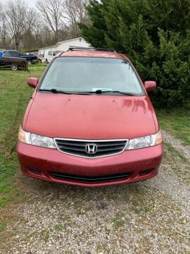 2002 Honda Odyssey for sale at WARREN'S AUTO SALES in Maryville TN