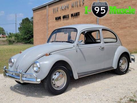 1967 Volkswagen Beetle for sale at I-95 Muscle in Hope Mills NC