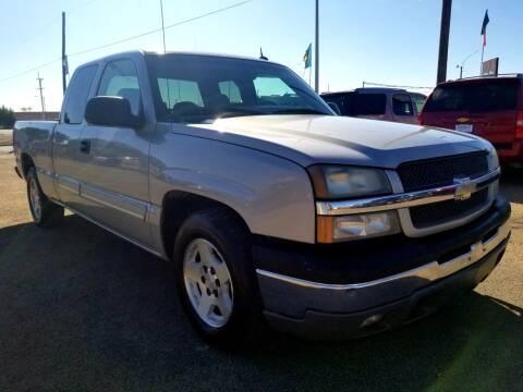 2005 Chevrolet Silverado 1500 for sale at California Auto Sales in Amarillo TX