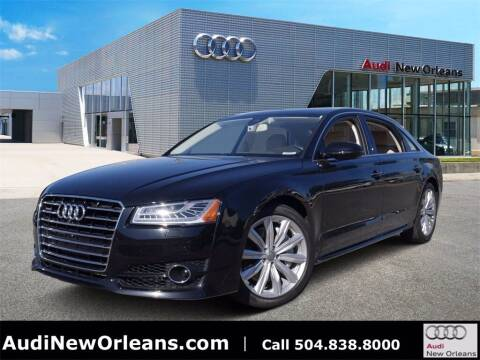 2018 Audi A8 L for sale at Metairie Preowned Superstore in Metairie LA