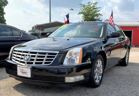 2009 Cadillac DTS for sale at Rivera Auto Group in Spring TX