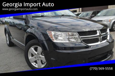 2013 Dodge Journey for sale at Georgia Import Auto in Alpharetta GA
