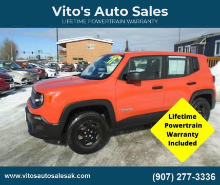 2017 Jeep Renegade for sale at Vito's Auto Sales in Anchorage AK