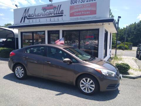 2014 Kia Forte for sale at Mechanicsville Auto Sales in Mechanicsville VA
