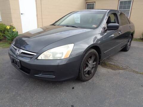 2006 Honda Accord for sale at Liberty Motors in Chesapeake VA