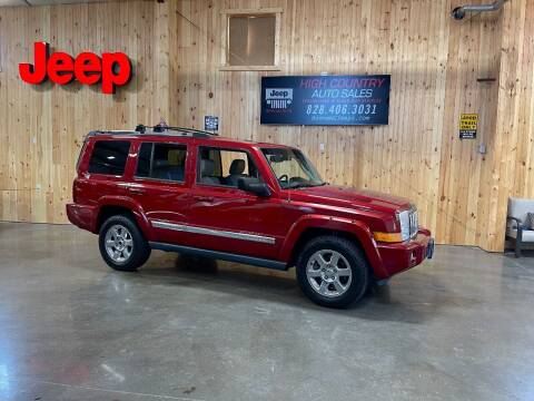 2006 Jeep Commander for sale at Boone NC Jeeps-High Country Auto Sales in Boone NC
