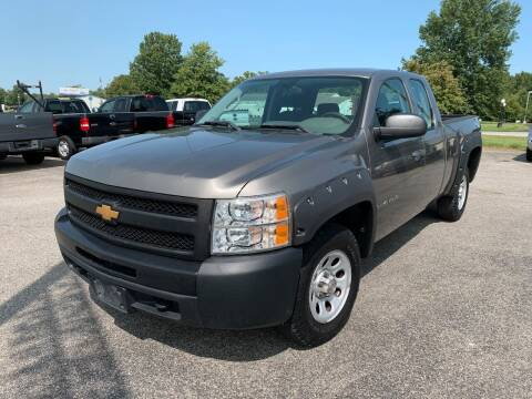 2012 Chevrolet Silverado 1500 for sale at Best Buy Auto Sales in Murphysboro IL