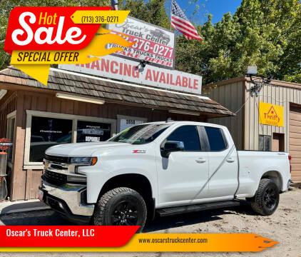 2020 Chevrolet Silverado 1500 for sale at Oscar's Truck Center, LLC in Houston TX