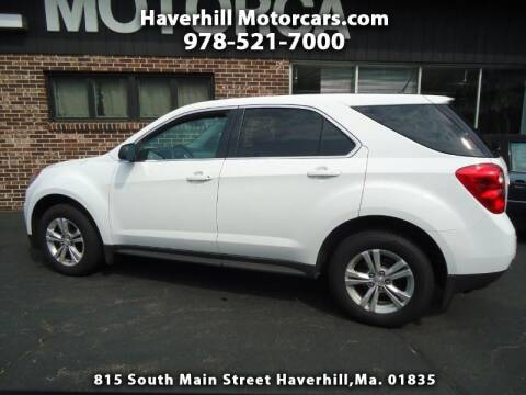 2014 Chevrolet Equinox for sale at 125 Auto Finance in Haverhill MA