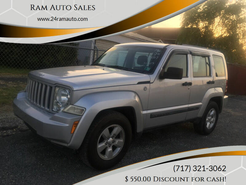 2011 Jeep Liberty for sale at Ram Auto Sales in Gettysburg PA