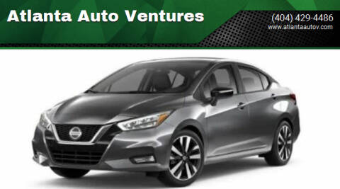 2021 Nissan Versa for sale at Atlanta Auto Ventures in Roswell GA