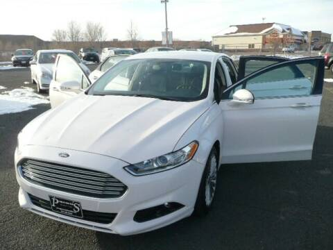 2016 Ford Fusion for sale at Prospect Auto Sales in Osseo MN
