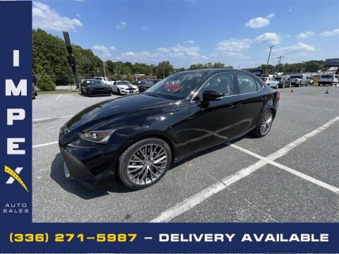 2017 Lexus IS 200t for sale at Impex Auto Sales in Greensboro NC